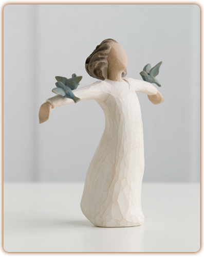 Happiness Willow Tree Angel