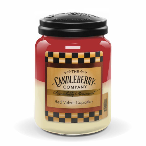 Red Velvet Cupcake Candleberry Candle