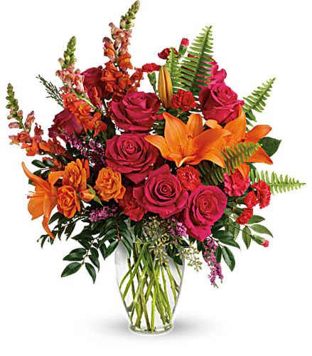 Teleflora's Punch of Color Bouquet