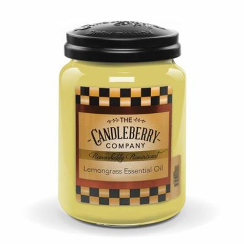 Lemongrass Essential Oil Candleberry Candle