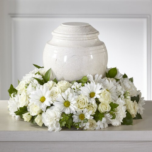 FTD Ivory Gardens Cremation Adornment