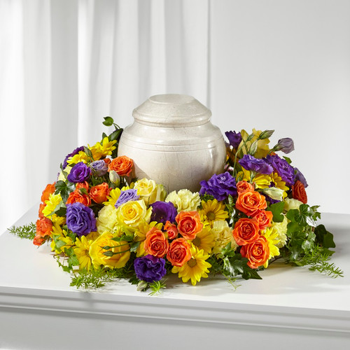 FTD Blossoms of Remembrance Cremation Adornment