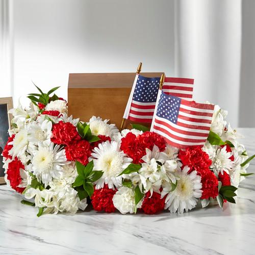 FTD Spirit of Patriotism Cremation Adornment