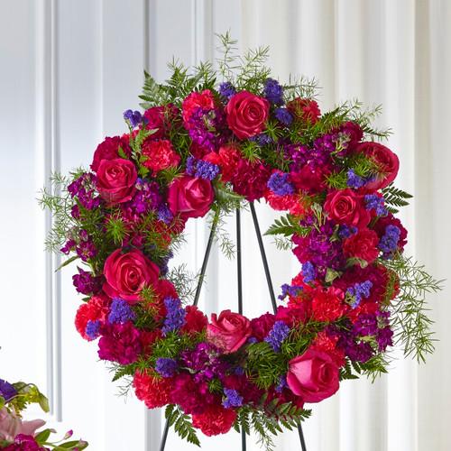 FTD Calming Colors Wreath