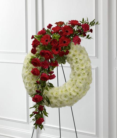 The Graceful Tribute Wreath