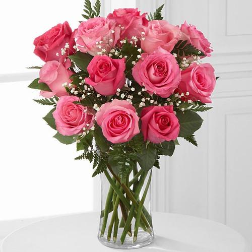 Dozen Roses - Choose Color