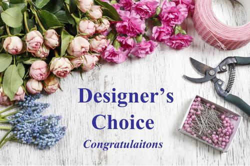 Designer's Choice Congratulations Bouquet