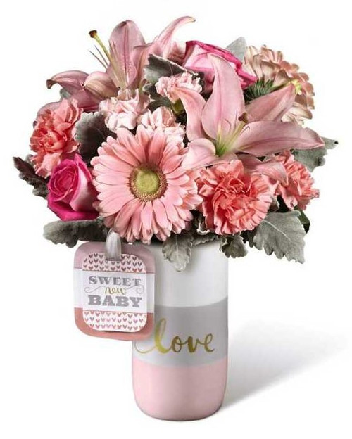 FTD Sweet Baby Girl Bouquet