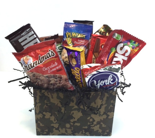 Camo Snack Basket