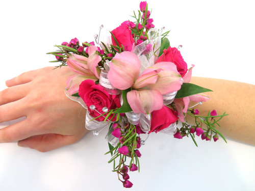 Mixed Flower Prom Corsage