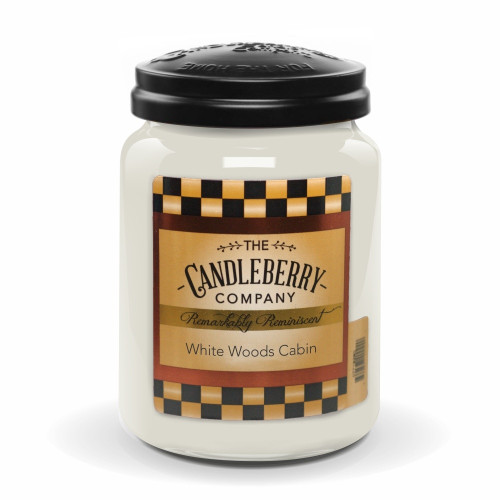 White Woods Cabin Candleberry Candle