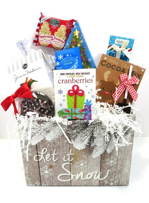 Let it Snow Gourmet Basket