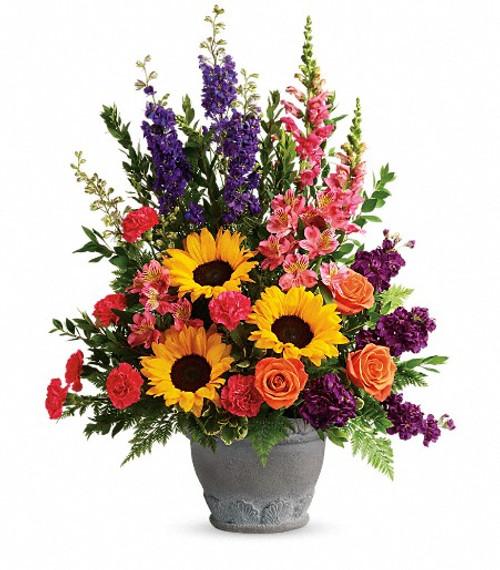 Teleflora's Hues of Hope Bouquet