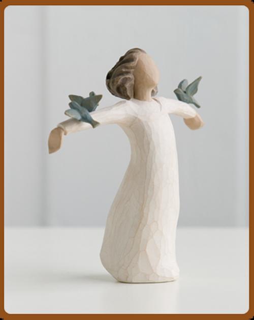 Happiness Willow Tree Angel