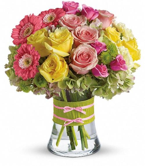 Teleflora's Fashionista Blooms Bouquet