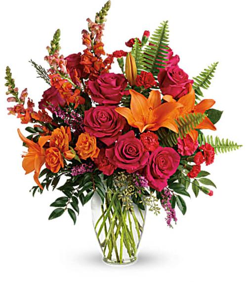 Teleflora's Punch of Color Bouquet