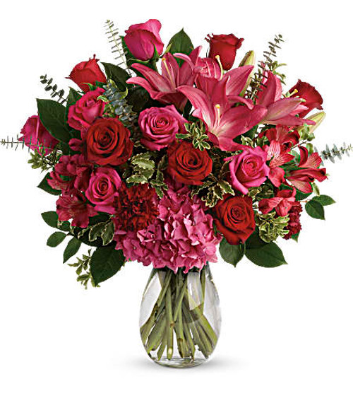 Teleflora's Love Struck Bouquet