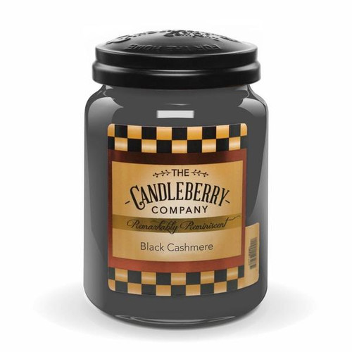 Black Cashmere Candleberry Candle