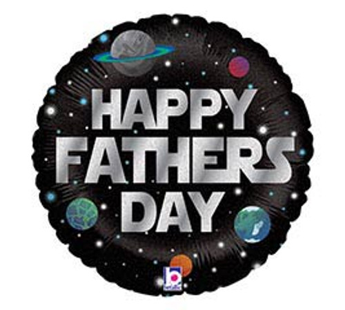 Happy Father's Day Mylar Balloon