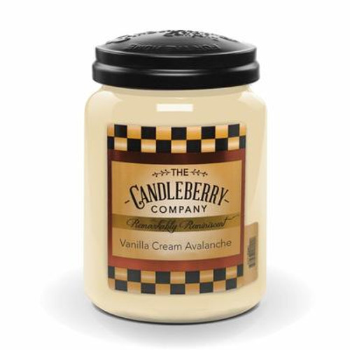 Vanilla Cream Avalanche Candleberry Candle