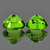 8.00 mm 2 pcs Round Best AAA Green Peridot Natural {Flawless-VVS1}