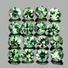 1.80 mm 30 pcs Round Machine Cut AAA Green Sapphire Natural {Flawless-VVS}