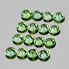 1.50 mm 50 pcs Round Machine Brilliant Cut AAA Green Sapphire Natural {Flawless-VVS}