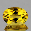 7x5 mm {0.77 cts} Oval Intense AAA Yellow Beryl 'Heliodor' Natural {Flawless-VVS}
