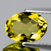 7x5 mm {0.57 cts} Oval Yellow Beryl 'Heliodor' Natural {Flawless-VVS}
