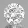 3.50 mm Round {0.16 cts} Brilliant Cut Color F-G White Diamond Natural {Slightly Inclusion }