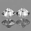 3.50 mm 2 pcs {0.33 cts} Round Brilliant Cut Color F-G White Diamond Natural {VVS-VS }--AAA Grade