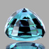 6.30 mm { 1.55 cts} Cushion Best AAA Fire Electric Blue Zircon Natural {Flawless-VVS1}