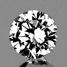 3.60 mm Round {0.20 cts} Brilliant Cut Extreme Brilliancy Natural White Diamond --AAA Grade