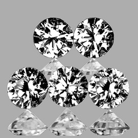 1.60 mm 5 pcs Round Color D-F White Diamond Natural {VVS-VS CLARITY}--AAA Grade