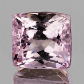 14x13mm { 16.69 cts} Rectangle Brilliant AAA Fire Natural Pink Kunzite {Flawless-VVS1}