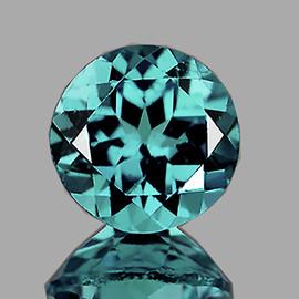 7.50 mm Round { 1.55 cts} AAA Fire Paraiba Blue Apatite (VVS)--AAA Grade