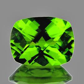9x7 mm Rectangle Checker AAA Green Peridot Natural  {Flawless-VVS}