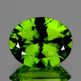 10x8 mm Oval Best AAA Green Peridot Natural {Flawless-VVS}