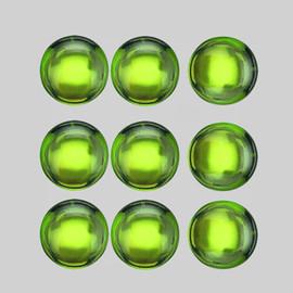 5.00 mm 9 pcs Round Cabochon Best AAA Green Peridot Natural {Flawless-VVS1}--AAA Grade