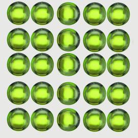 3.00 mm 25 pcs Round Cabochon Best AAA Green Peridot Natural {Flawless-VVS1}--AAA Grade