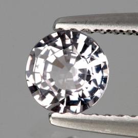 4.00 mm 1 pcs Round White Sapphire Natural {Flawless-VVS}