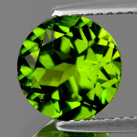 8.00 mm Round AAA Fire AAA Green Peridot Natural {Flawless-VVS}