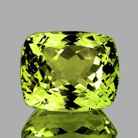 14x12 mm {8.42 cts} Rectangle AAA Green Gold Lemon Quartz Natural {Flawless-VVS1}