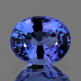 4.5x3.5 mm Oval AAA Ceylon Blue Sapphire Natural {Flawless-VVS1}