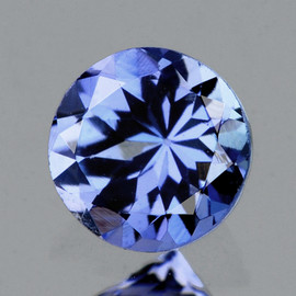 4.20 mm Round AAA Fire Purple Blue Tanzanite Natural {Flawless-VVS1}