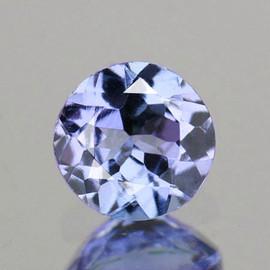 4.50 mm Round AAA Fire Purple Blue Tanzanite Natural {Flawless-VVS1}