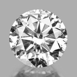 3.00 mm Round {0.11 cts} Brilliant Cut Color F-G White Diamond Natural {Slightly Inclusion }