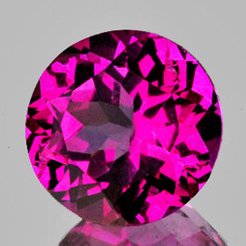 12.00 mm 1 pcs Round Best AAA Hot Pink Topaz Natural {Flawless-VVS1}