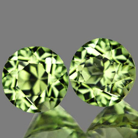 4.70 mm 2 pcs Round AAA Color Change Turkish Diaspore Natural {Flawless-VVS1}