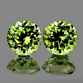 5.00 mm 2 pcs Round AAA Color Change Turkish Diaspore Natural {Flawless-VVS1}